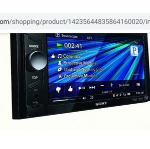 Sony in dash car dvd player